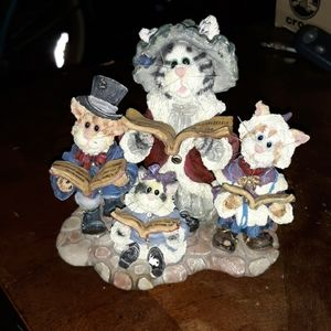 Boyd's bears. Collectable figurine the purrstone c